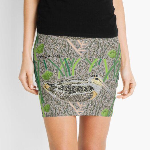 American Woodcock Mini Skirt