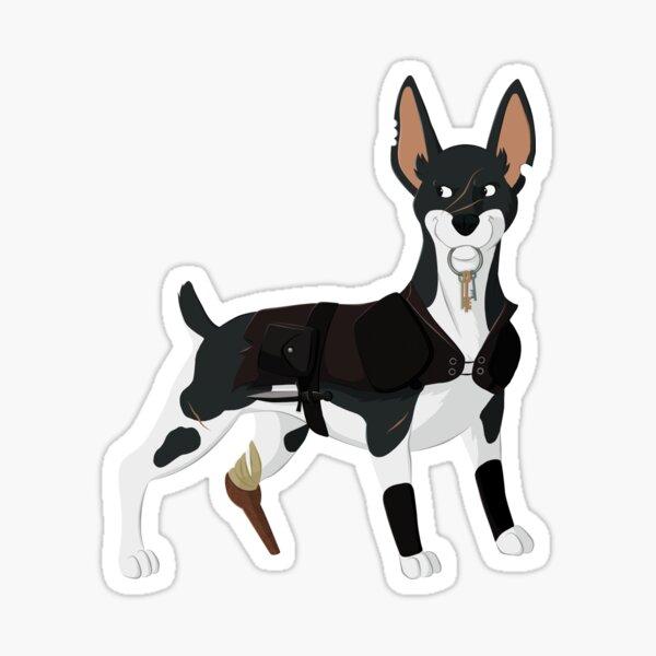 Rogue Rat Terrier Sticker