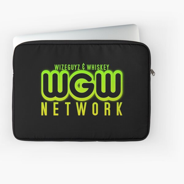 """WGW Network """"Ecto Cooler"""" colorway Laptop Sleeve"""