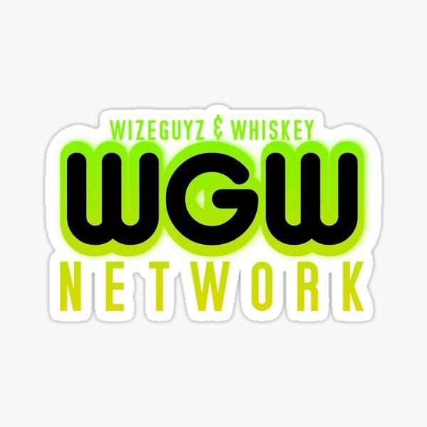 "WGW Network ""Ecto Cooler"" colorway Sticker"
