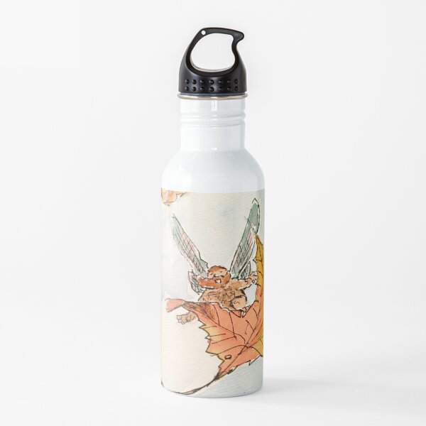 Leaf-Surfing Water Bottle