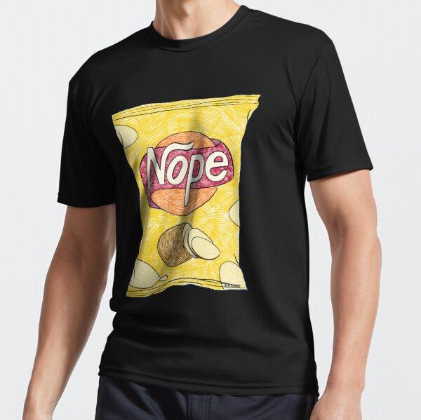 Potato Nope (Black) Active T-Shirt