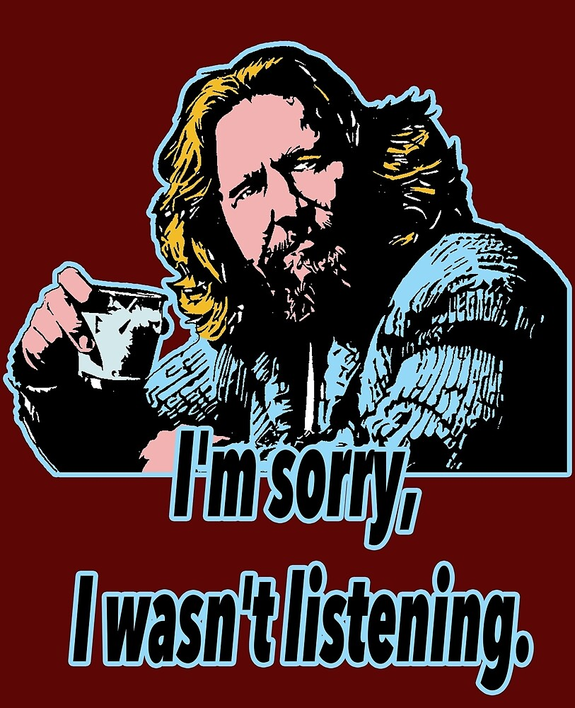 Big Lebowski Philosophy 28 by Shirtquotes