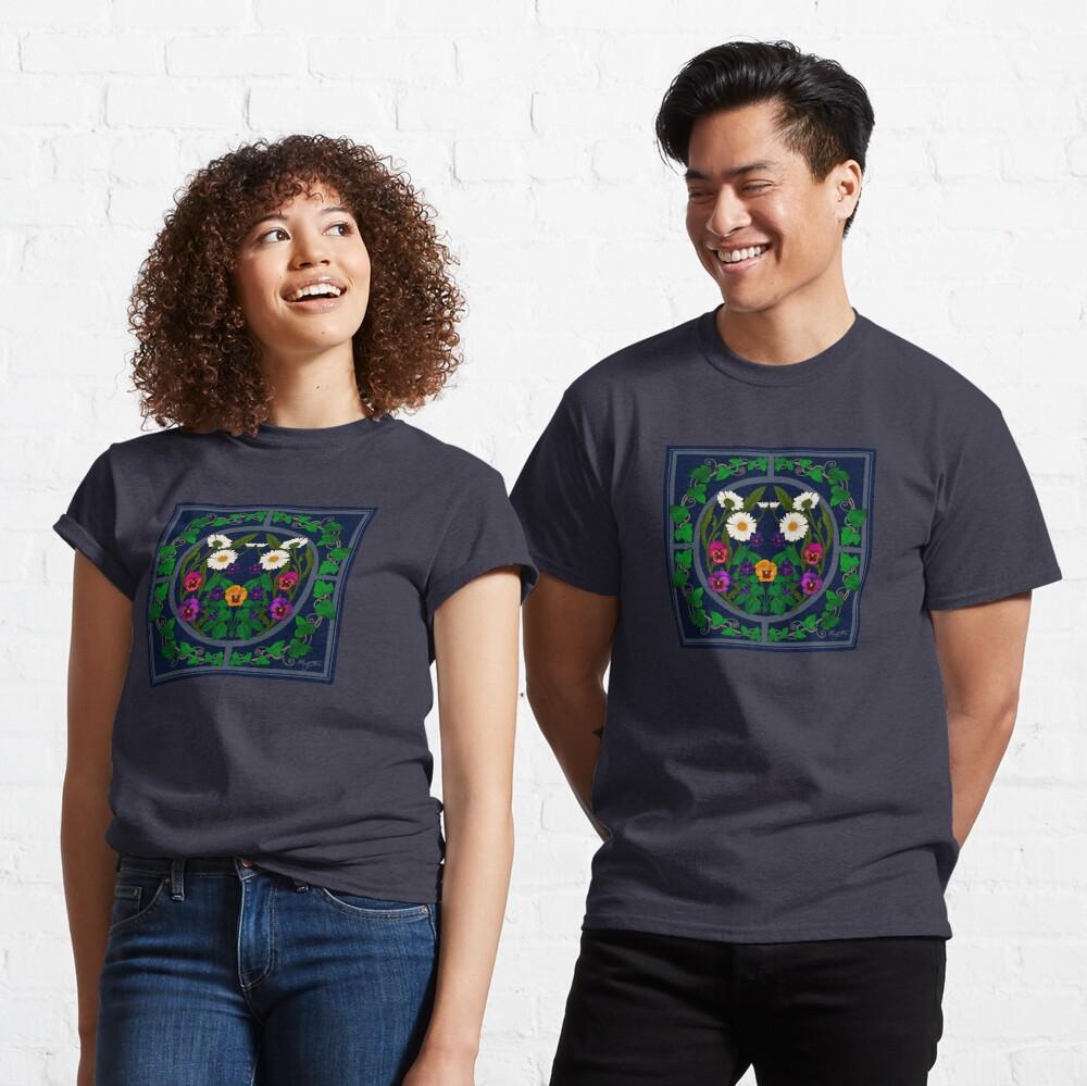 Daisy, Violet, Ivy-- Navy Classic T-Shirt