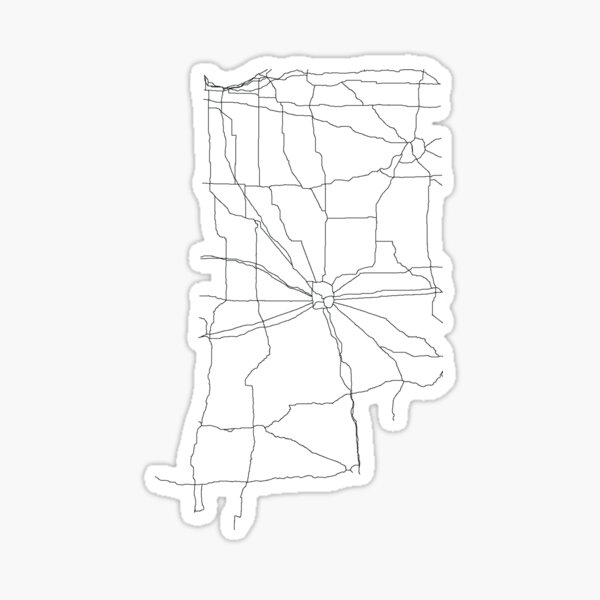 Fort Wayne Map Gifts Merchandise Redbubble