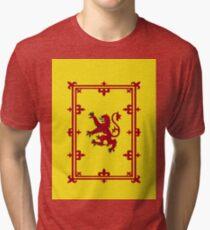 Scotland the Brave Banner Tri-blend T-Shirt