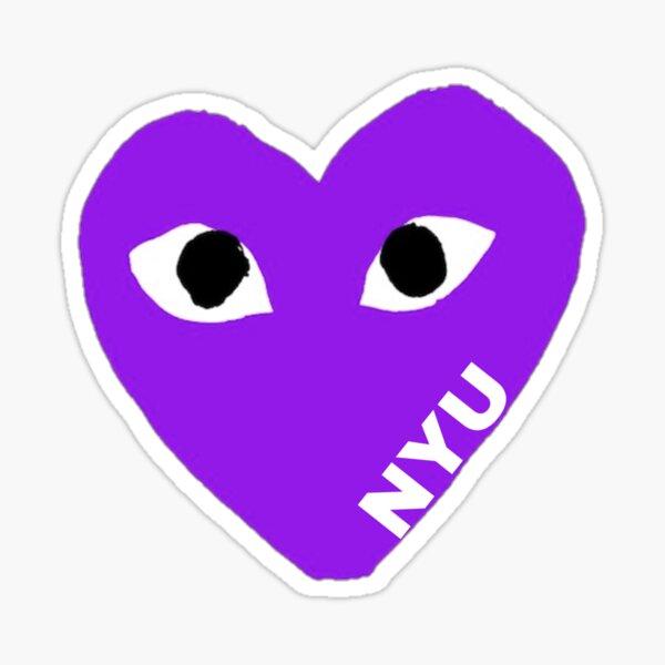 NYU Comme Des Garcon Sticker