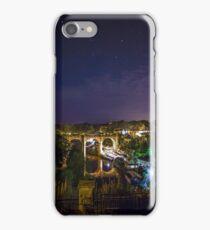 Knaresborough railway viaduct and the River Nidd Gorge iPhone Case/Skin