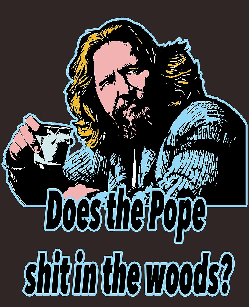 Big Lebowski Philosophy 31 by Shirtquotes