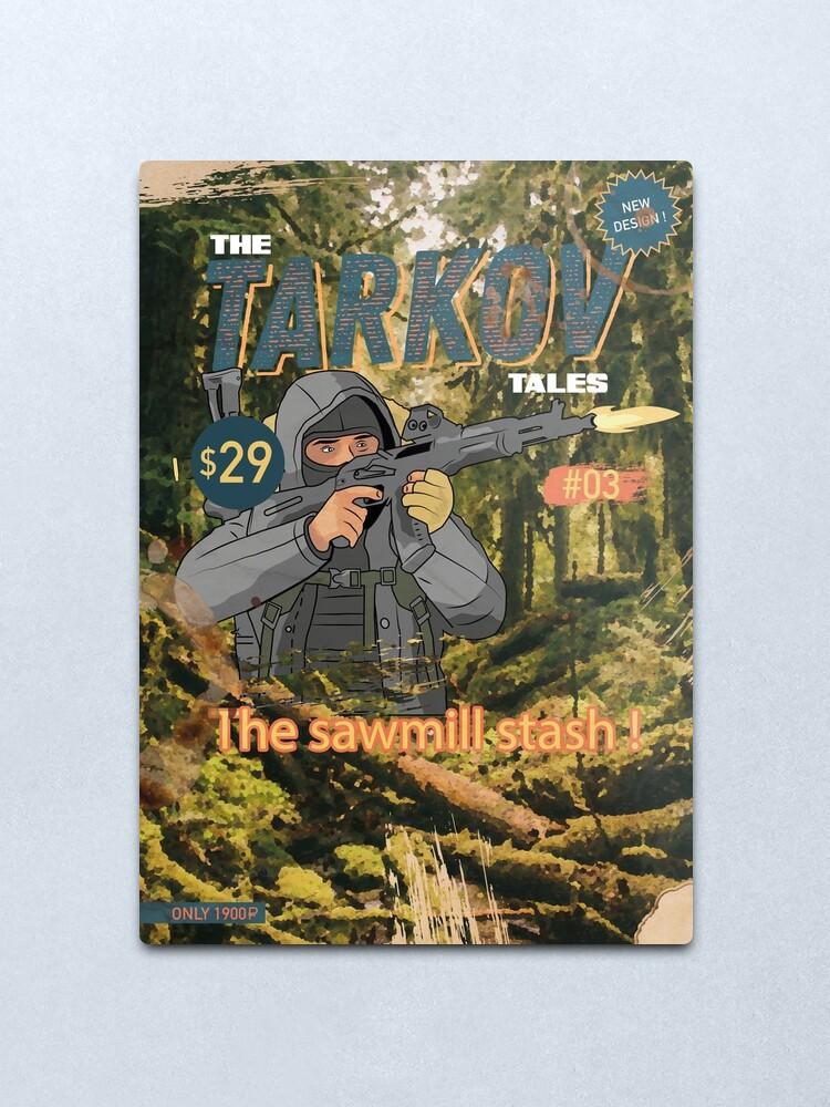 Alternate view of The Tarkov Tales # 03 - Escape from Tarkov - Shturman- V2 Metal Print