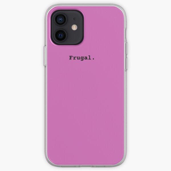 Frugal Minimalism Good Money Habits Frugality  iPhone Soft Case
