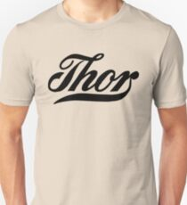 Thor, American classic motorcycle logo remake T-Shirt