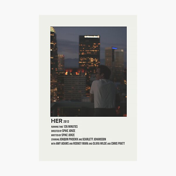 her (2013) Photographic Print