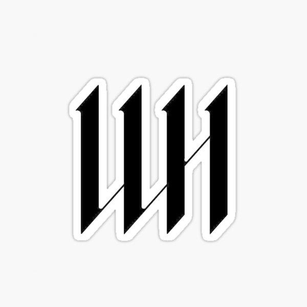 Wonho logo Sticker