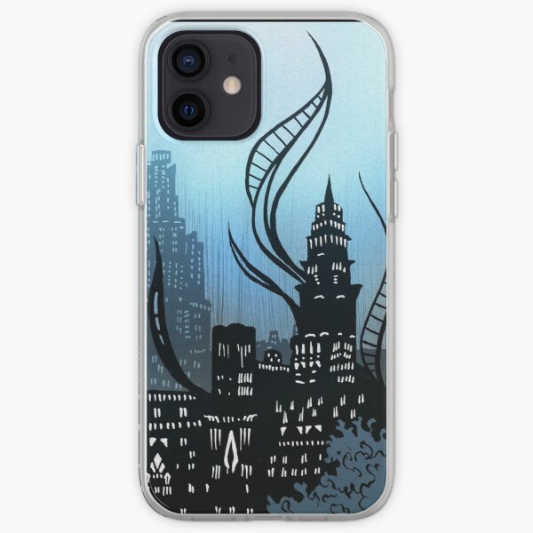 Amaurot - Inktober iPhone Soft Case