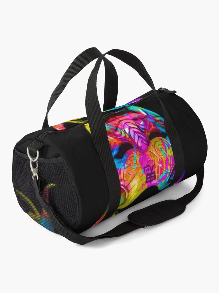 Alternate view of Neon Oni Duffle Bag