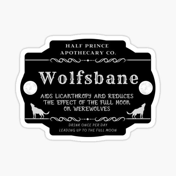 Wolfsbane Sticker
