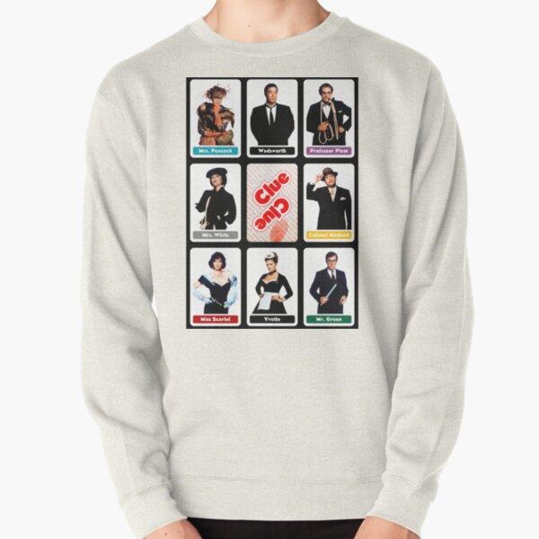 Clue (1985) - Suspect Cards Pullover Sweatshirt