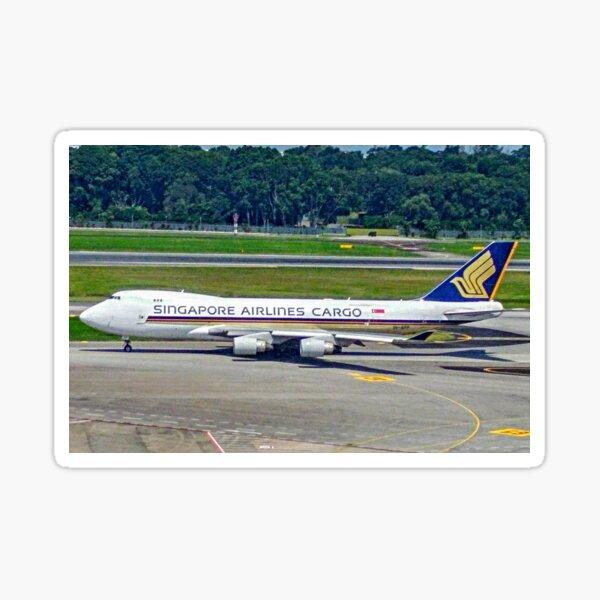 Singapore Airlines Cargo Boeing 747 Sticker
