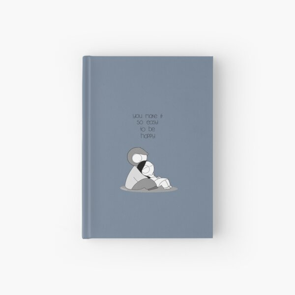 Easy To Be Happy Hardcover Journal