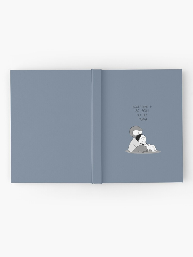 Alternate view of Easy To Be Happy Hardcover Journal