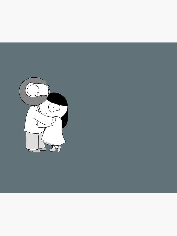 Hug Meh by catanacomics