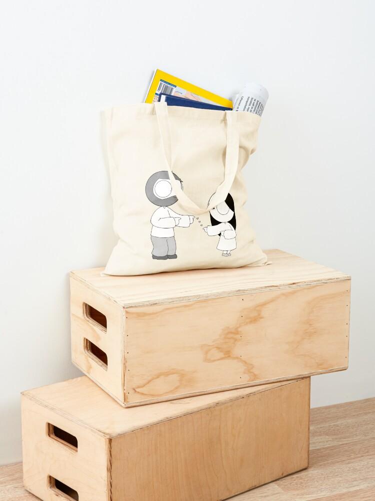 Alternate view of Fingergun Lovin' Tote Bag