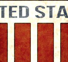 United States Shield Sticker