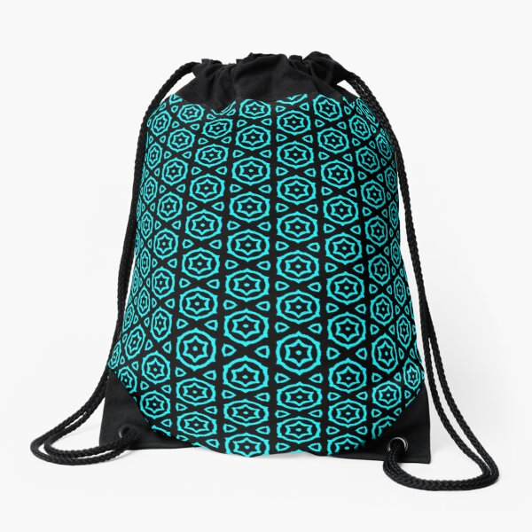 BLUE CAKE Drawstring Bag
