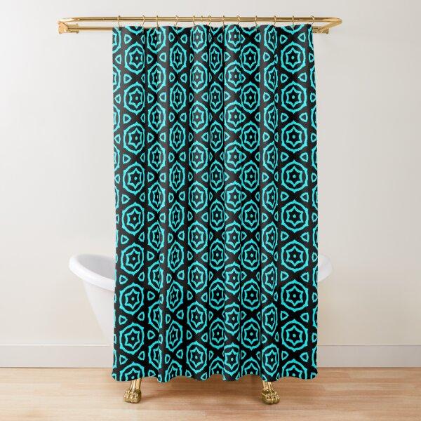BLUE CAKE Shower Curtain