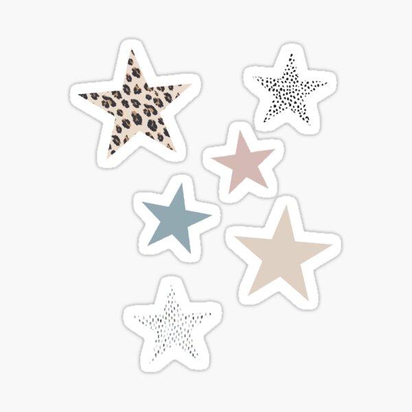 Boho Stars Sticker