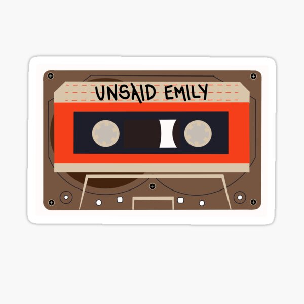 Julie and the Phantoms: Unsaid Emily Sticker