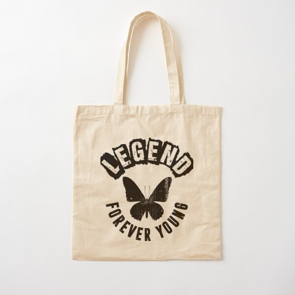 Legend Forever Young Cotton Tote Bag