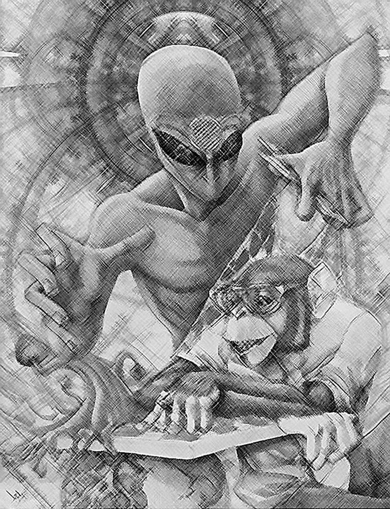 Alien Puppeteer by melliott15