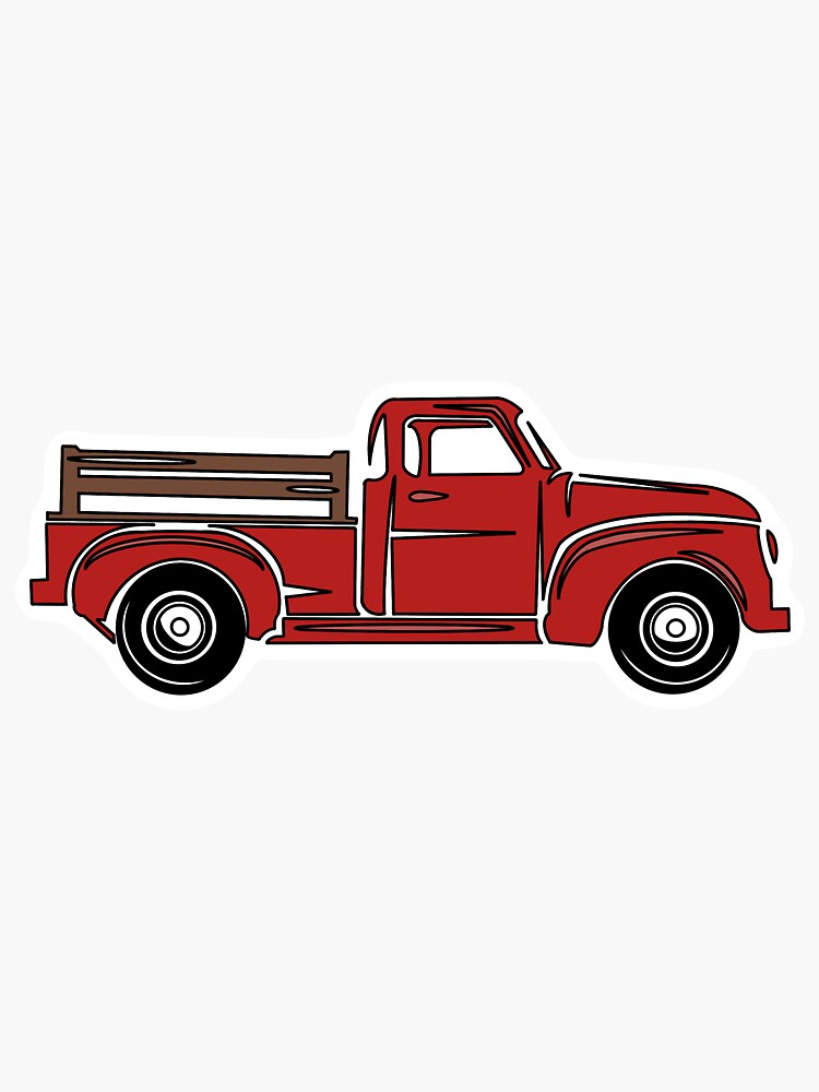 Red Farm Truck by Sarah5910