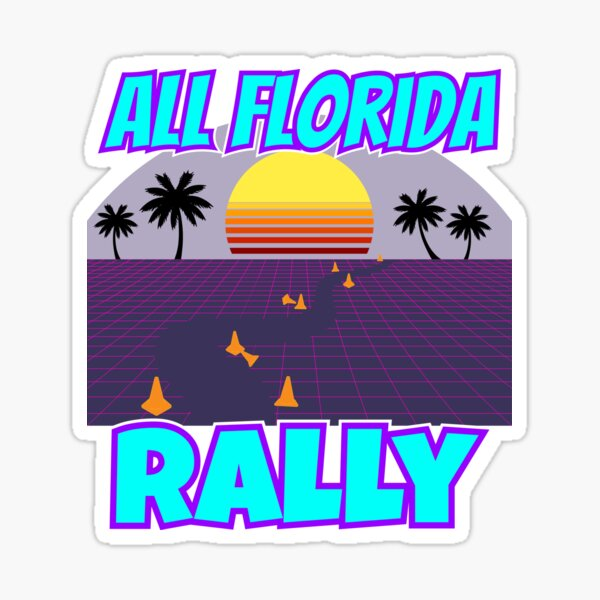 AFR Miami Shirt Sticker