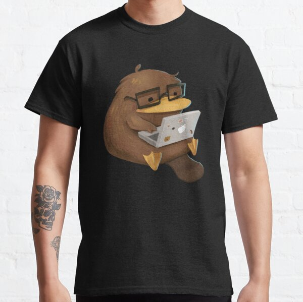 Nerdy Platypus Classic T-Shirt