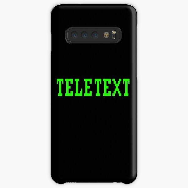 TELETEXT Ceefax BBC Broadcast Teletext Design Samsung Galaxy Snap Case