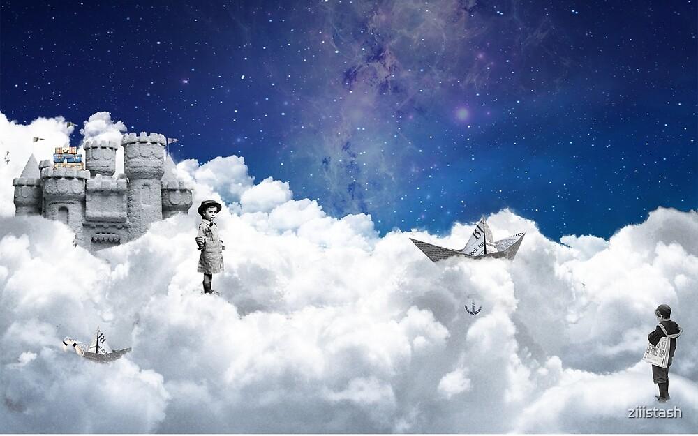Bulid castle on clouds by ziiistash