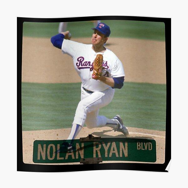 Nolan Ryan Blvd. Poster