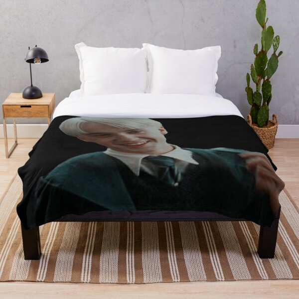 draco malfoy Throw Blanket
