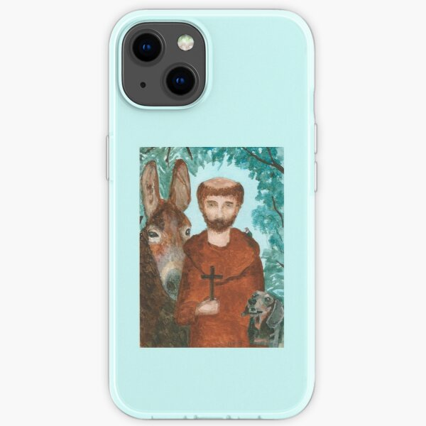 Saint Francis with Animals iPhone Soft Case