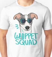 WHIPPET SQUAD (fawn brindle) Unisex T-Shirt