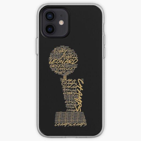 Raptors  iPhone Soft Case