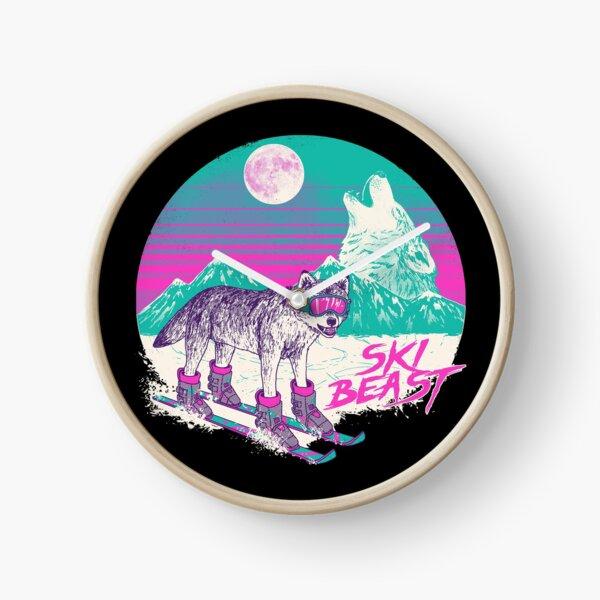 Ski Beast Clock