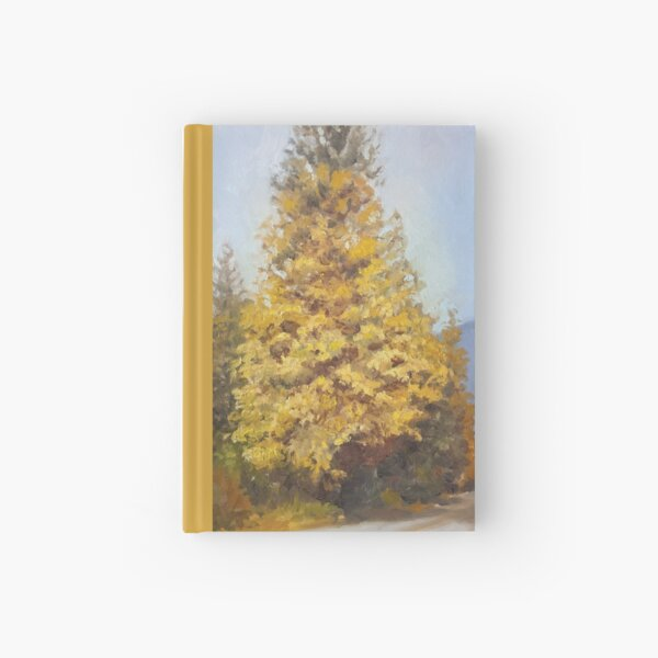 Fall Tree Hardcover Journal