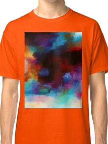 Abstract Nature Landscape Tropical Classic T-Shirt