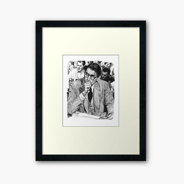 Atticus Framed Art Print