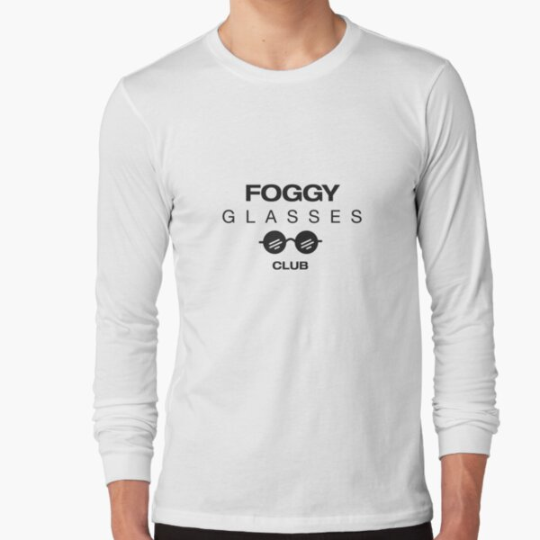 Foggy Glasses Club Long Sleeve T-Shirt