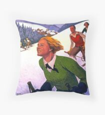 Vintage poster - Le Hohwald Throw Pillow